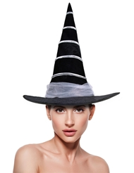 STRIPED WITCH HAT