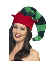 PLUSH ELF HAT