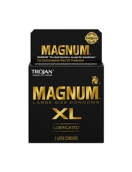 TROJAN MAGNUM XL CONDOMS 3-PACK