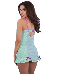 WILD ORCHID RUCHED CHEMISE