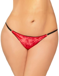 VELVET CRUSH PANTY - PLUS