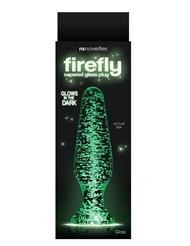 FIREFLY GLASS TAPERED BUTT PLUG