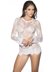 BARE IT ALL LONG SLEEVE CHEMISE - ALL SIZES