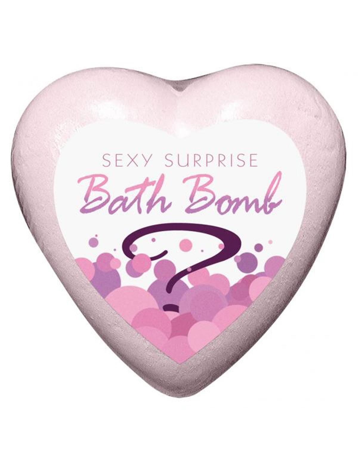 Sexy Surprise Bath Bomb Strawberry Champagne