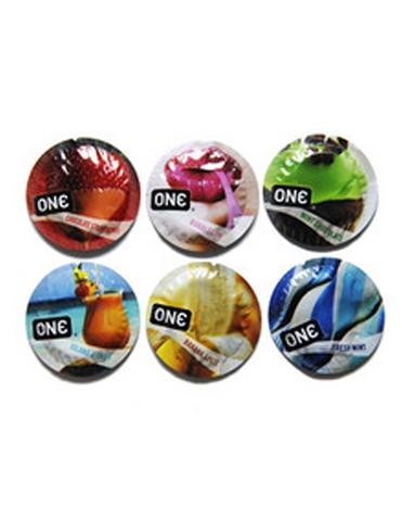 ONE FLAVOR WAVES CONDOM