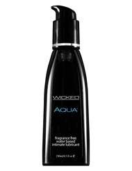 AQUA WATERBASED LUBRICANT 8.5-OZ