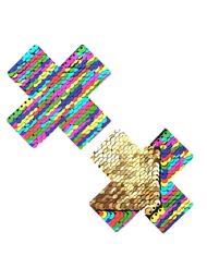 NIPZTIX FUNFETTI & GOLD X FACTOR PASTIES
