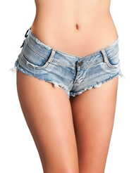 SEXY CUT OFF DENIM SHORTS