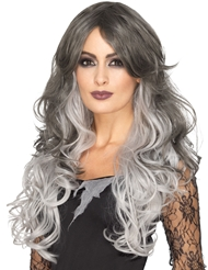 Alternate front view of GOTHIC WIG
