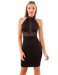 ALL ABOUT THE DETAILS HALTER DRESS