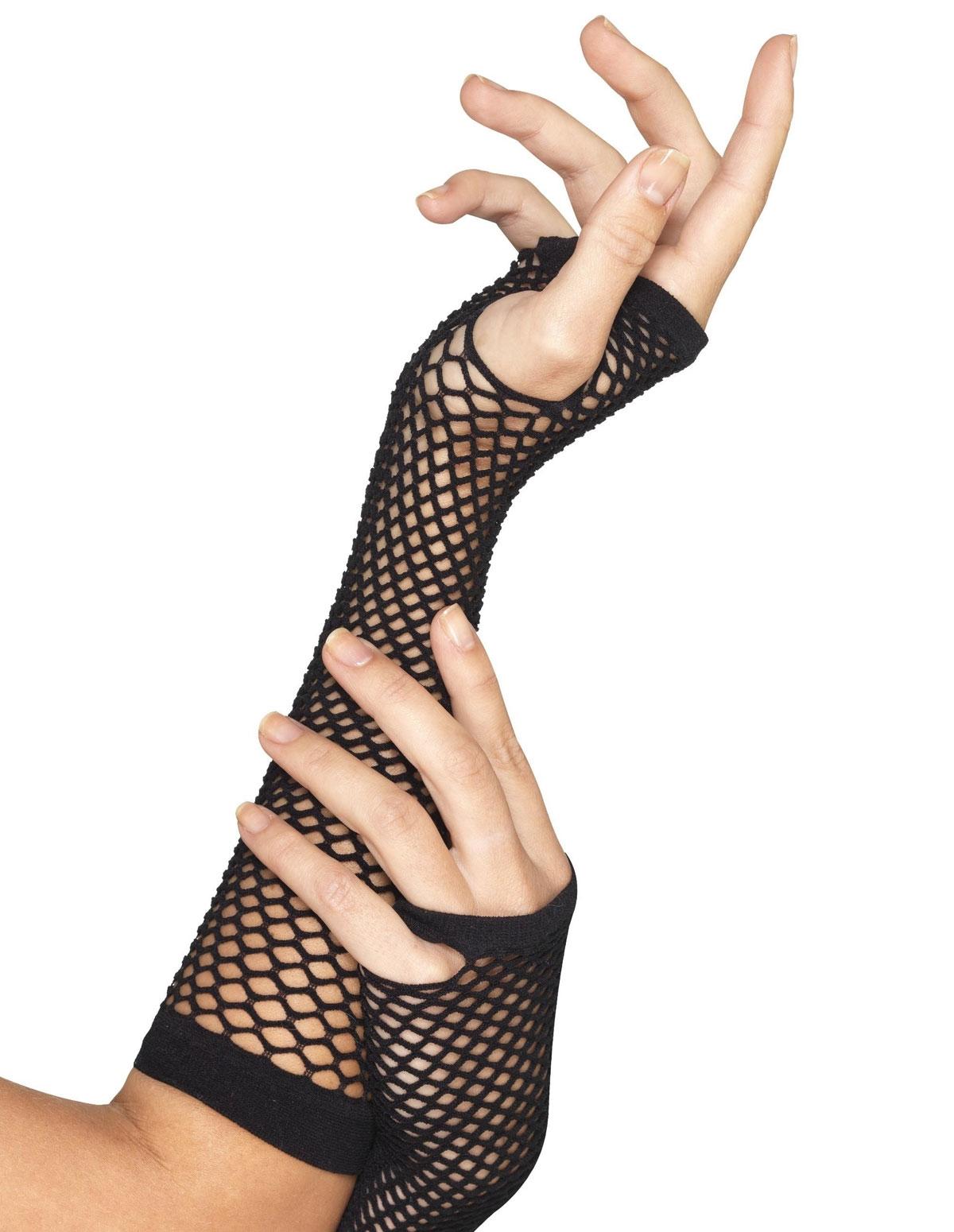 Fishnet Gloves - Long