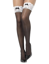 FRENCH MAID STAY-UP THIGH HIGHS