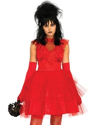 Alternate front view of BEETLE BRIDE COSTUME