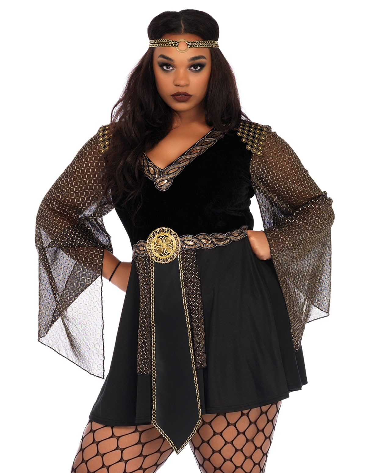 Glamazon Warrior Plus Size Costume
