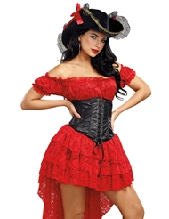 Alternate front view of PIRATE WENCH