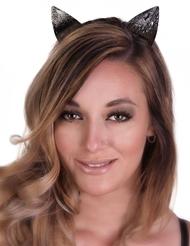 MATTE CAT EARS HEADBAND