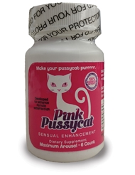 PINK PUSSYCAT ENHANCEMENT BOTTLE