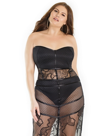 HARNESSED AMBITIONS PLUS SIZE DRESS