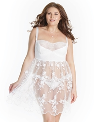 BOUQUET OF FLOWERS BABYDOLL - PLUS