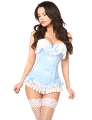 Alternate front view of DREAMS COME TRUE CORSET