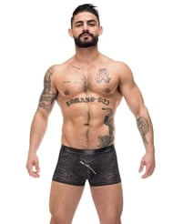 ZIP IT POUCH BOXER SHORT