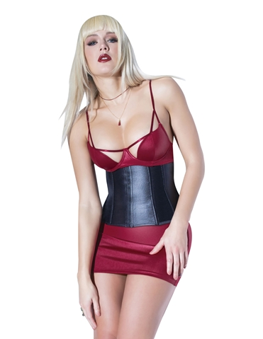 MATTE WET LOOK WAIST CINCHER