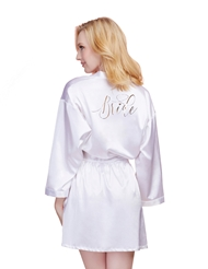 GOLD BRIDE ROBE