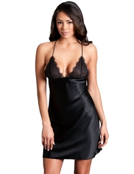 VICTORIA LACE UP CHEMISE