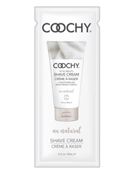 COOCHY CREAM FOIL PACKET - AU NATURAL