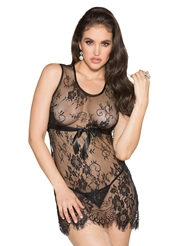 LOOKIE LOO LACE CHEMISE - ALL SIZES
