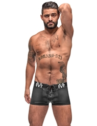 BLACK ICE LACE UP BOXER