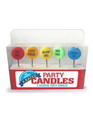 XXX PARTY CANDLE SET