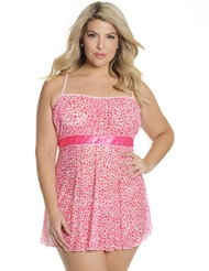 I HEART YOU PLUS SIZE BABYDOLL