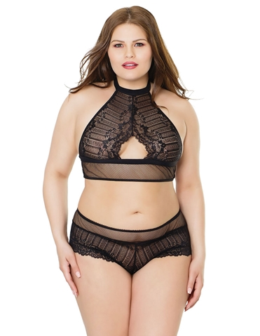 ENTRANCING BRA SET - PLUS