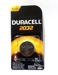 SINGLE PACK DURACELL 3V 2032 BATTERY