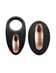 ELEGANCE DUAL VIBRATING C-RING AND REMOTE