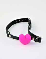 HEART SHAPED SILICONE BALL GAG