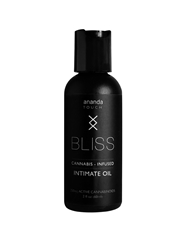 BLISS CANNABIS INFUSED INTIMATE OIL 60ML