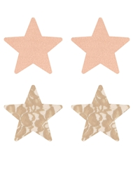 NUDE AMBITION STAR PASTIES