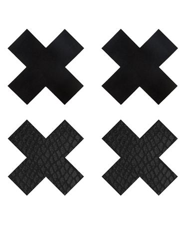CLASSIC BLACK X PASTIES