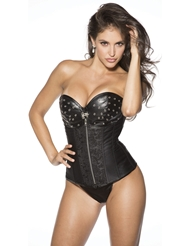 FAUX LEATHER CORSET - ALL SIZES