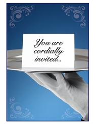 YOU ARE CORDIALLY INVITED CARD