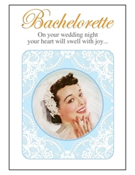 BACHELORETTE ON YOUR WEDDING NIGHT CARD