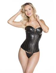 Alternate front view of SEXY SHOWTIME CORSET