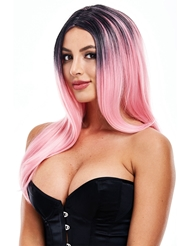 Alternate front view of ELLE WIG