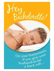 HEY BACHELORETTE ON YOUR HONEYMOON CARD