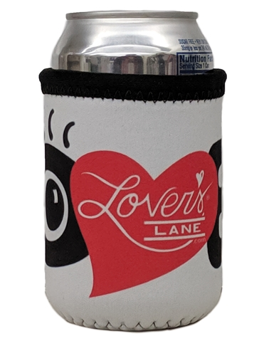 LOVE WITH EYE KOOZIE