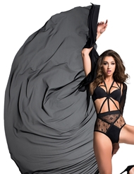 ADORE COCO DECADENTLY DIVINE SHEER CAPE