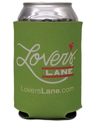 LOVER'S LANE KOOZIE CAN COOLER - LIME
