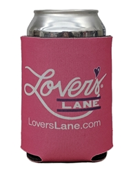 LOVER'S LANE KOOZIE CAN COOLER - PINK